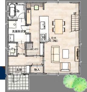 中宮地モデルハウス