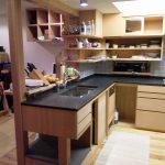 オリジナルキッチンの家