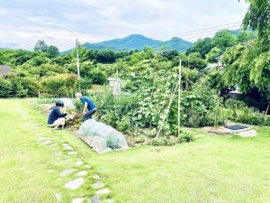 秩父 埼玉 東京 移住 二拠点生活 デュアルライフ 一戸建て 戸建て 一軒家 リノベーション 農園 農作業 畑仕事 農業
